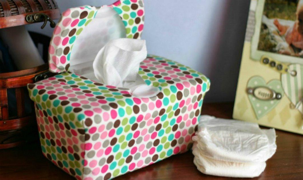 Ποιος είπε ότι τα μωρομάντηλα έχουν μόνο μία χρήση; 9 + 1 προτάσεις από τον Σπύρο Σούλη που θα σας ενθουσιάσουν - Κυρίως Φωτογραφία - Gallery - Video