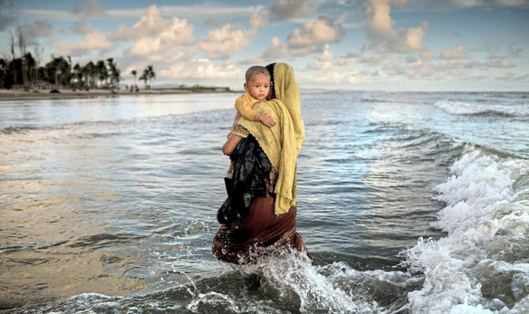 Unicef: Αφιερωμένες στην προσφυγιά οι τρεις κορυφαίες φωτογραφίες της χρονιάς  - Κυρίως Φωτογραφία - Gallery - Video