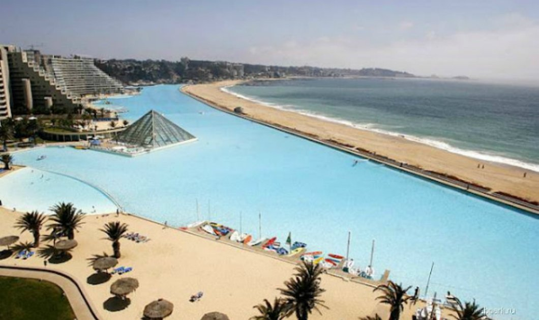Εντυπωσιακότατο! Στη Χιλή η μεγαλύτερη πισίνα του πλανήτη - Αφήνει τους πάντες με ανοιχτό το στόμα με τις διαστάσεις της (ΦΩΤΟ) - Κυρίως Φωτογραφία - Gallery - Video