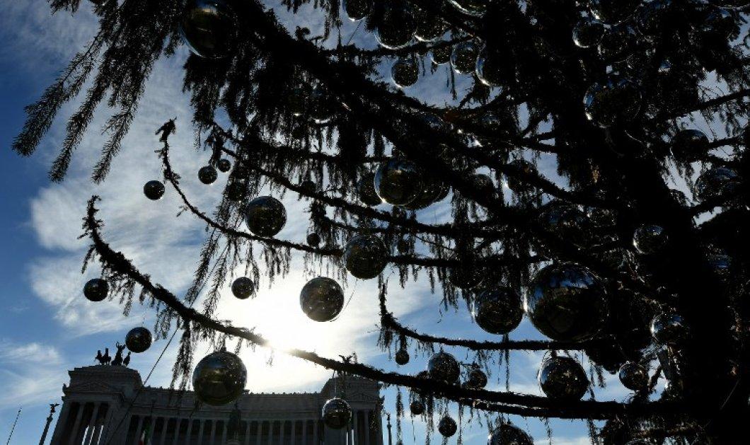 Ντροπή θλίβομαι όταν το κοιτάζω: Η Ρώμη η αιώνια πόλη έχει το χειρότερο χριστουγεννιάτικο δέντρο του κόσμου- ΦΩΤΟ   - Κυρίως Φωτογραφία - Gallery - Video