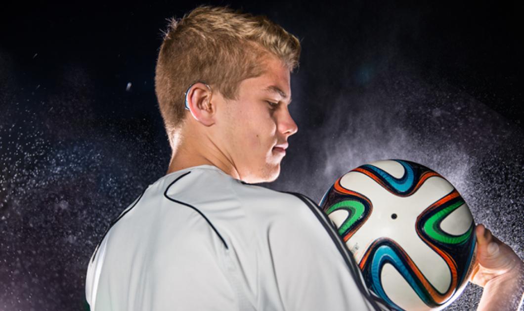Σε κορυφαίο περιφερειακό πρωτάθλημα ο κωφός ποδοσφαιριστής που παίζει στη Γερμανία Σιμόν 'Ολερτ  - Κυρίως Φωτογραφία - Gallery - Video