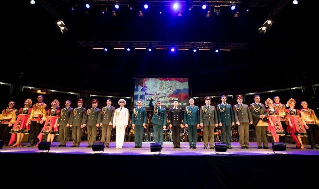 """Πολλοί επώνυμοι ανάμεσα στο κοινό που """"καθήλωσε"""" η χορωδία του κόκκινου στρατού σε δύο μεγαλειώδεις συναυλίες (ΦΩΤΟ) - Κυρίως Φωτογραφία - Gallery - Video"""