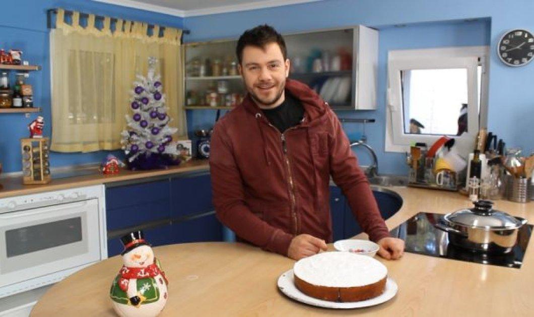 Βασιλόπιτα - Κέικ από τον Ευτύχη Μπλέτσα για να καταπλήξετε τους καλεσμένους σας στο Πρωτοχρονιάτικο ρεβεγιόν! - Κυρίως Φωτογραφία - Gallery - Video