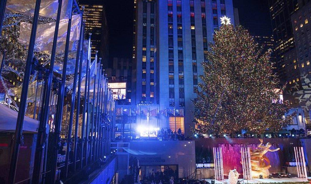 Παραμυθένιο! 50.000 λαμπάκια κι ένα υπέρλαμπρο αστέρι με Swarovski,  στην κορυφή - Tο Μανχάταν έγινε μια πόλη μαγική! (ΦΩΤΟ) - Κυρίως Φωτογραφία - Gallery - Video