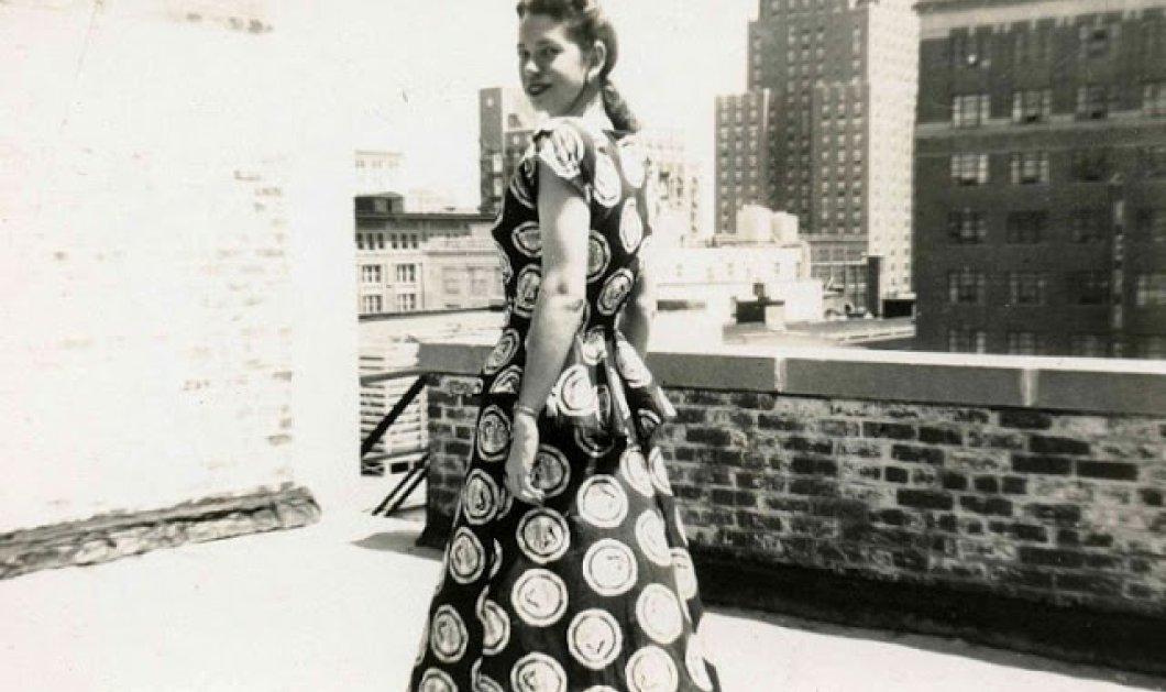 Vintage μόδα 1940 - 40 υπέροχες κυρίες φορούν φουστάνια με πουά (ΦΩΤΟ) - Κυρίως Φωτογραφία - Gallery - Video