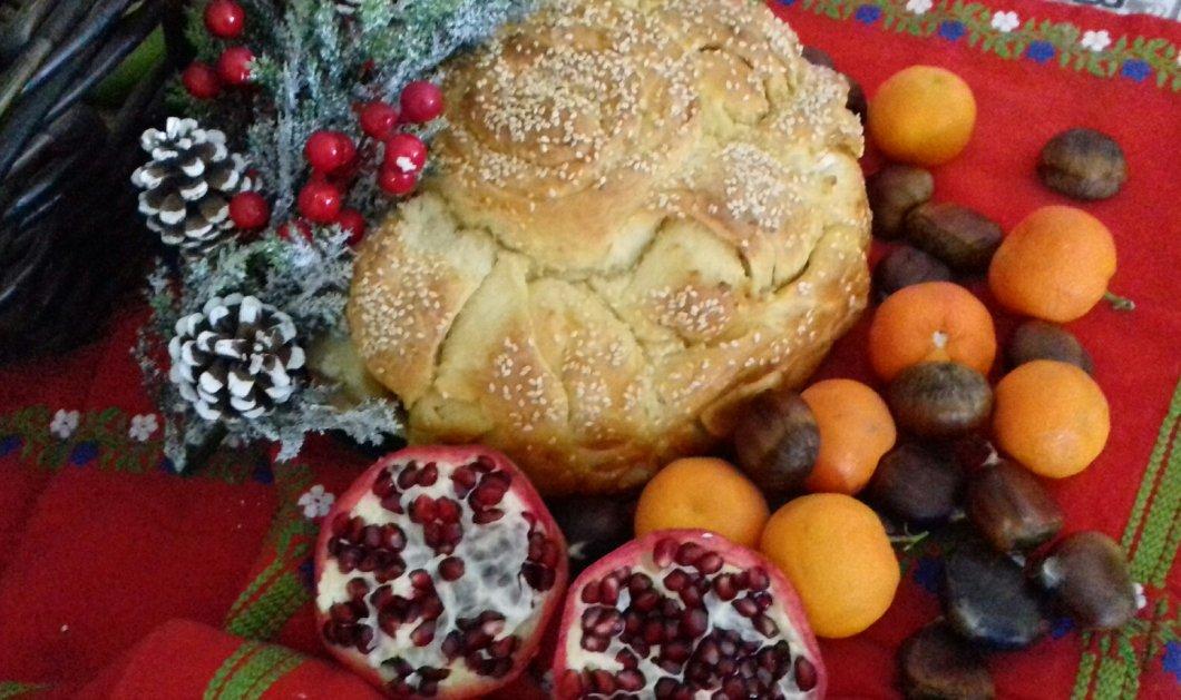 Χριστόψωμο: Το στολισμένο ψωμάκι των Χριστουγέννων έχει μεγάλη ιστορία- Πως φτιάχνεται σε όλη την Ελλάδα - Κυρίως Φωτογραφία - Gallery - Video