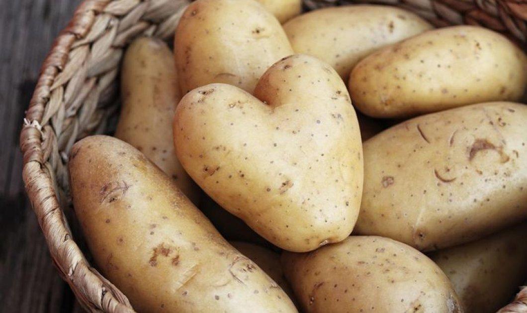 Όταν μάθετε πόσο πολύτιμη είναι η φλούδα της πατάτας δεν θα την ξαναπετάξετε ποτέ! - Δείτε τα οφέλη για την υγεία μας - Κυρίως Φωτογραφία - Gallery - Video