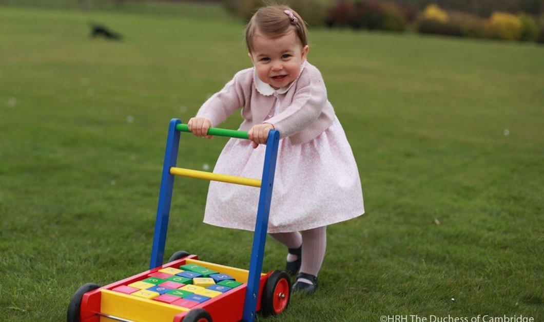 """Γλυκύτατη! - Αυτές είναι οι ωραιότερες φωτογραφίες της μικρής πριγκίπισσας Σάρλοτ που είναι """"αγχωμένη"""" γιατί αρχίζουν τα βάσανα... του νηπιαγωγείου  - Κυρίως Φωτογραφία - Gallery - Video"""