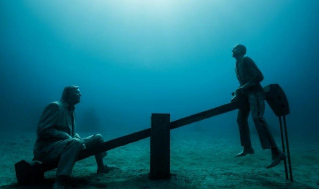 Μαγεία! 14 υπέροχα γλυπτά πάνω και κάτω από το νερό που δεν φανταζόσασταν ότι υπάρχουν! - Θα σας συναρπάσουν (ΦΩΤΟ) - Κυρίως Φωτογραφία - Gallery - Video