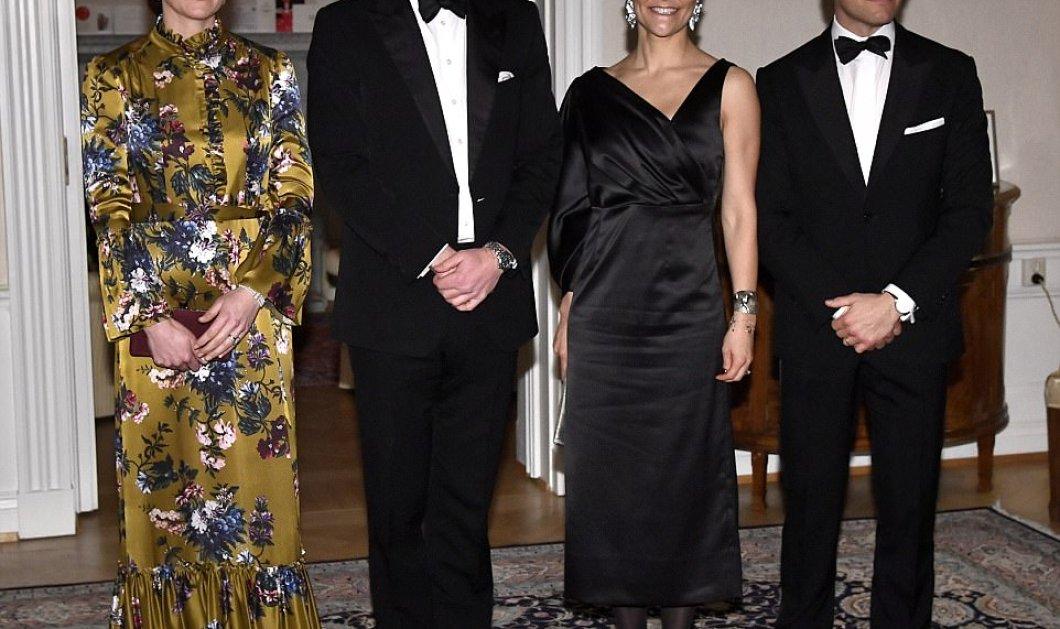 Ξεπέρασε τον εαυτό της! Η υπέρλαμπρη Κέιτ Μίντλετον έκλεψε την παράσταση με ένα υπέροχο φόρεμα στο black tie dinner του Βρετανού πρεσβευτή στη Στοκχόλμη! (ΦΩΤΟ-ΒΙΝΤΕΟ)  - Κυρίως Φωτογραφία - Gallery - Video