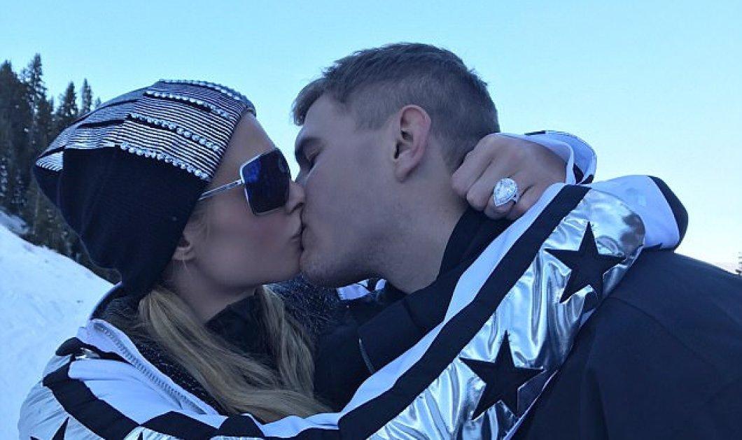 Αρραβωνιάστηκε η Paris Hilton: Η πρόταση γάμου στα χιόνια - ΦΩΤΟ & ΒΙΝΤΕΟ  - Κυρίως Φωτογραφία - Gallery - Video