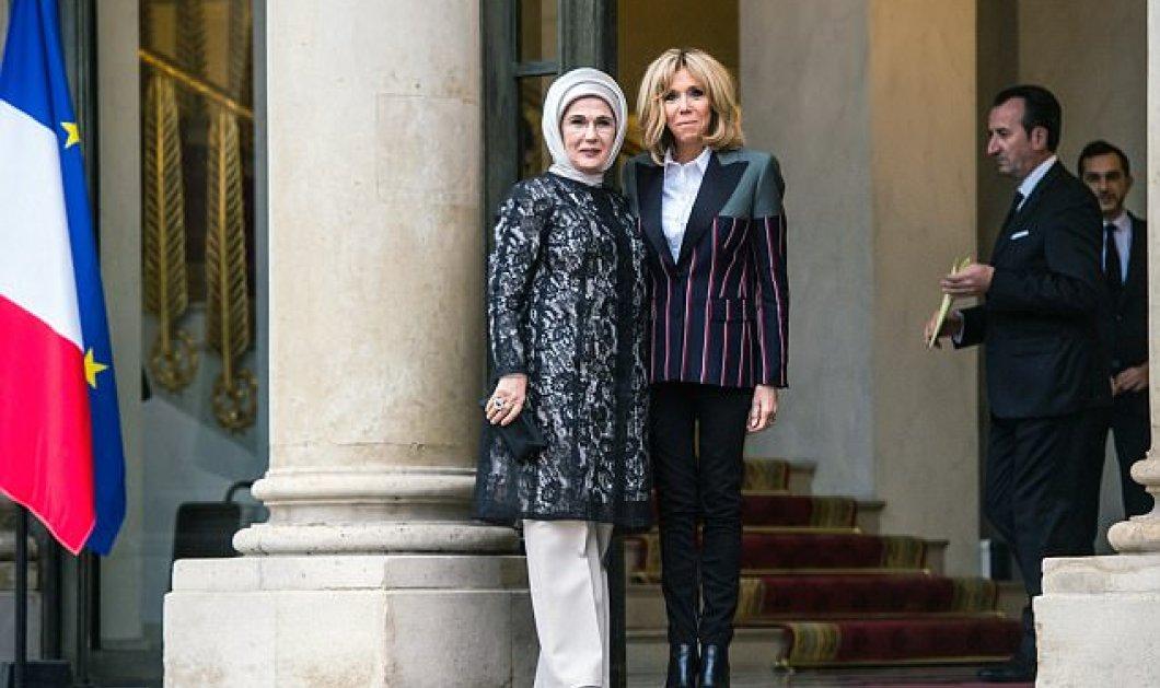 """Όταν η Μπριζίτ συνάντησε την Εμινέ- Γιατί οι επικριτές της κυρίας Μακρόν την συγκρίνουν με την """"Μαρία Αντουανέτα"""" (ΦΩΤΟ) - Κυρίως Φωτογραφία - Gallery - Video"""