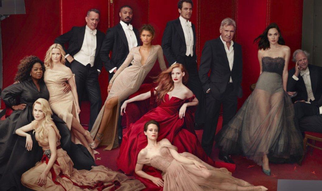 Vanity Fair: Το photoshop τα έκανε μαντάρα: Η Όπρα Γουίνφρεϊ με 3 χέρια - Η Ρις Γουίδερσπουν με 3 πόδια - Κυρίως Φωτογραφία - Gallery - Video