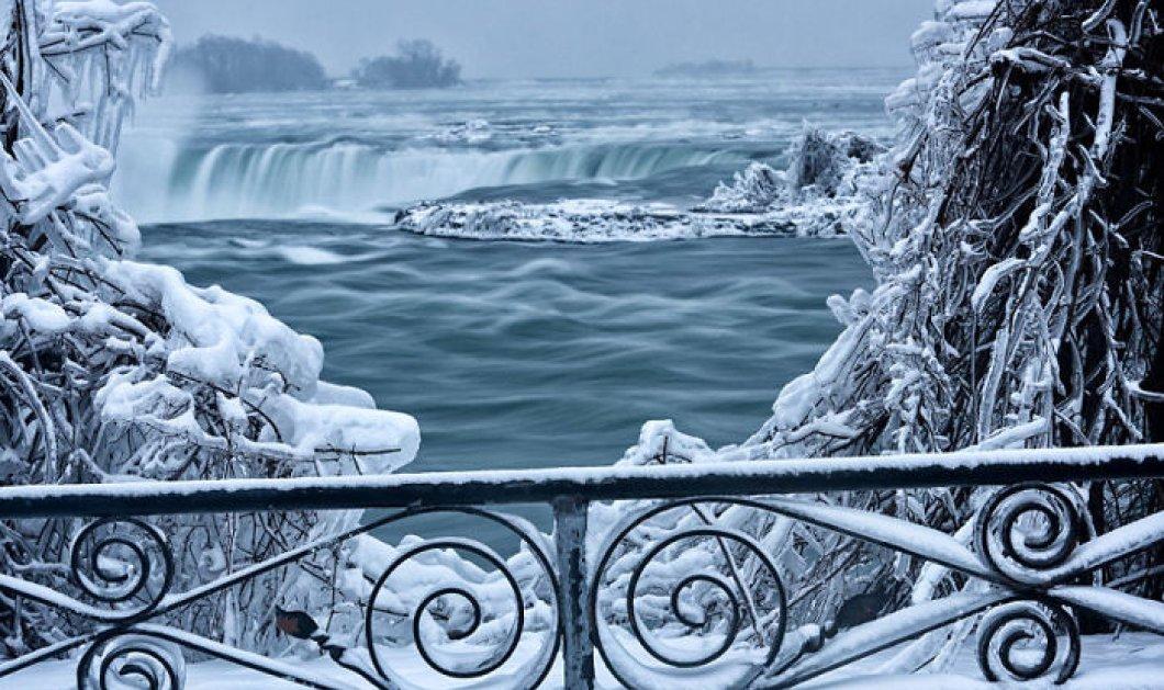 Αφήστε τη μαγεία να σας συνεπάρει- 23 υπέροχες φωτογραφίες από τον παγωμένο Νιαγάρα - Κυρίως Φωτογραφία - Gallery - Video