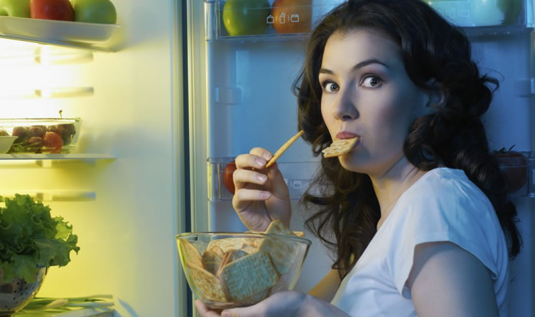 Νέα έρευνα αποκαλύπτει: Το βράδυ υπάρχει μεγαλύτερος κίνδυνος να «ξεσπάσετε» στο φαγητό - Δείτε γιατί! - Κυρίως Φωτογραφία - Gallery - Video