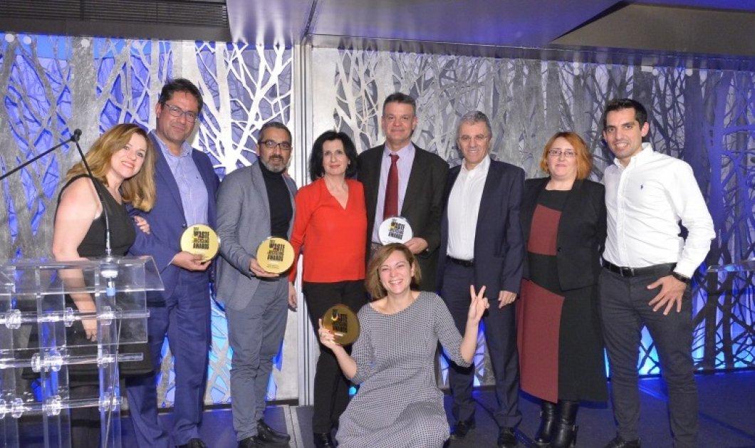 Cosmote: Τετραπλή διάκριση στα περιβαλλοντικά βραβεία «Waste & Recycling»  - Κυρίως Φωτογραφία - Gallery - Video