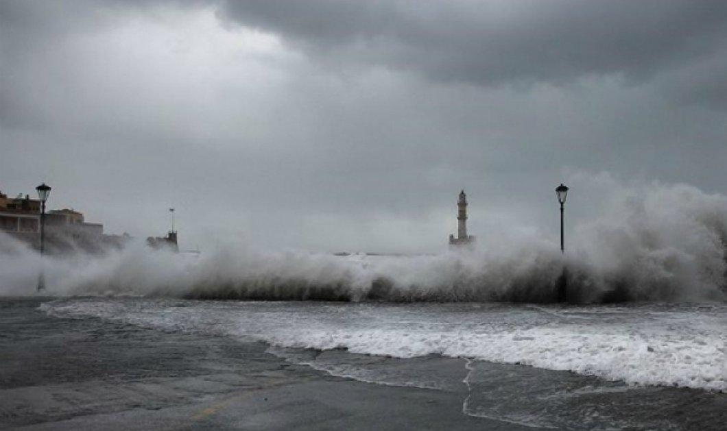 """Τεράστια μάχη του """"Νήσος Χίου"""" με 10 μποφόρ ανοιχτά της Λήμνου - Χάθηκε κάτω από τα κύματα το λιμάνι της Μύρινας (ΒΙΝΤΕΟ) - Κυρίως Φωτογραφία - Gallery - Video"""
