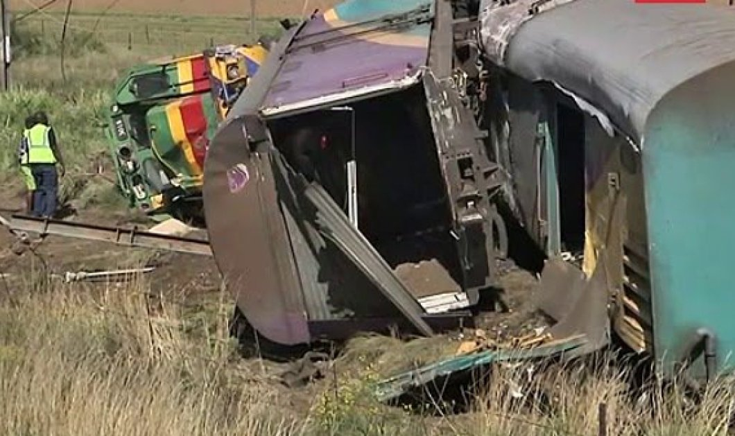 Σύγκρουση τρένων στο Γιοχάνεσμπουργκ - Πάνω από 200 τραυματίες & 18 νεκροί  - Κυρίως Φωτογραφία - Gallery - Video