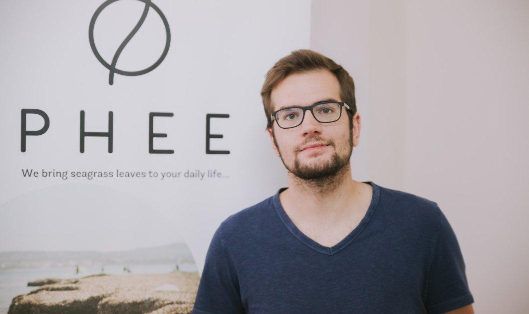 Αυτός είναι ο 24χρονος Έλληνας που μετατρέπει τα φύκια σε είδη πολυτελείας... Βρίσκεται στη λίστα του Forbes (ΦΩΤΟ) - Κυρίως Φωτογραφία - Gallery - Video