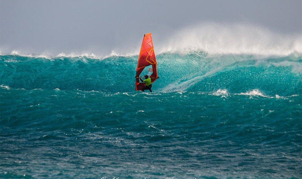 Good News: Ο Νίκος Κακλαμανάκης στα 49 του δαμάζει τα κύματα της Κρήτης & εντυπωσιάζει (ΦΩΤΟ) - Κυρίως Φωτογραφία - Gallery - Video