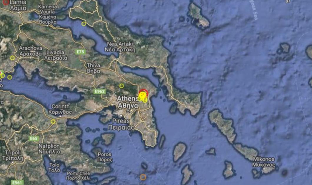 Έκτακτο! Ισχυρή σεισμική δόνηση 4,5 Ρίχτερ ταρακούνησε όλη την Αθήνα  - Κυρίως Φωτογραφία - Gallery - Video