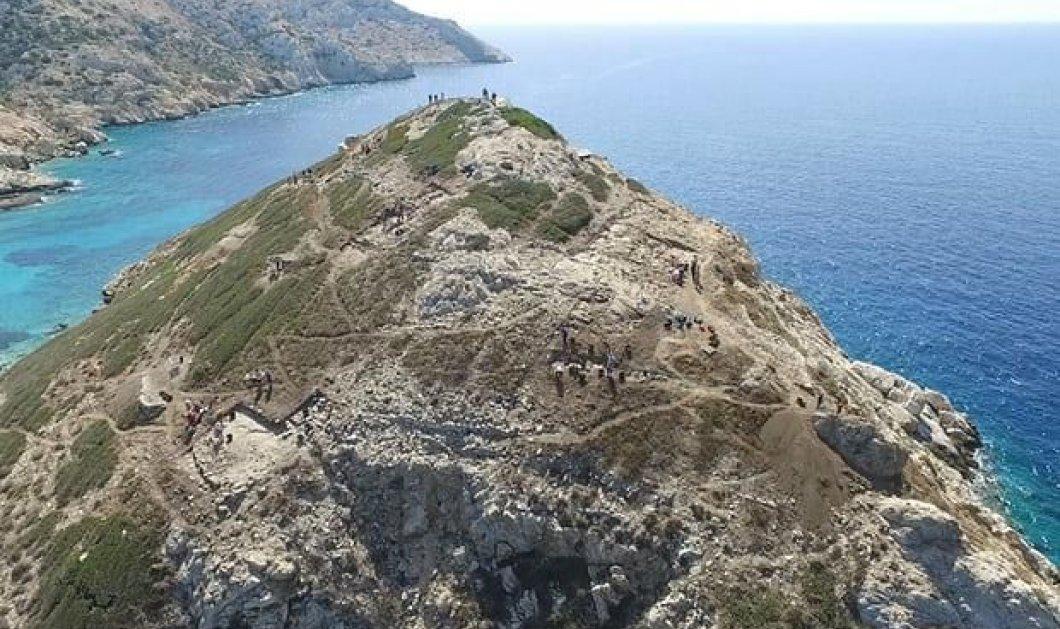 Εντυπωσιακά ευρήματα: Στο Δασκαλιό της Κέρου έχτιζαν όπως στις Μυκήνες, αλλά 1.000 χρόνια πριν!  - Κυρίως Φωτογραφία - Gallery - Video