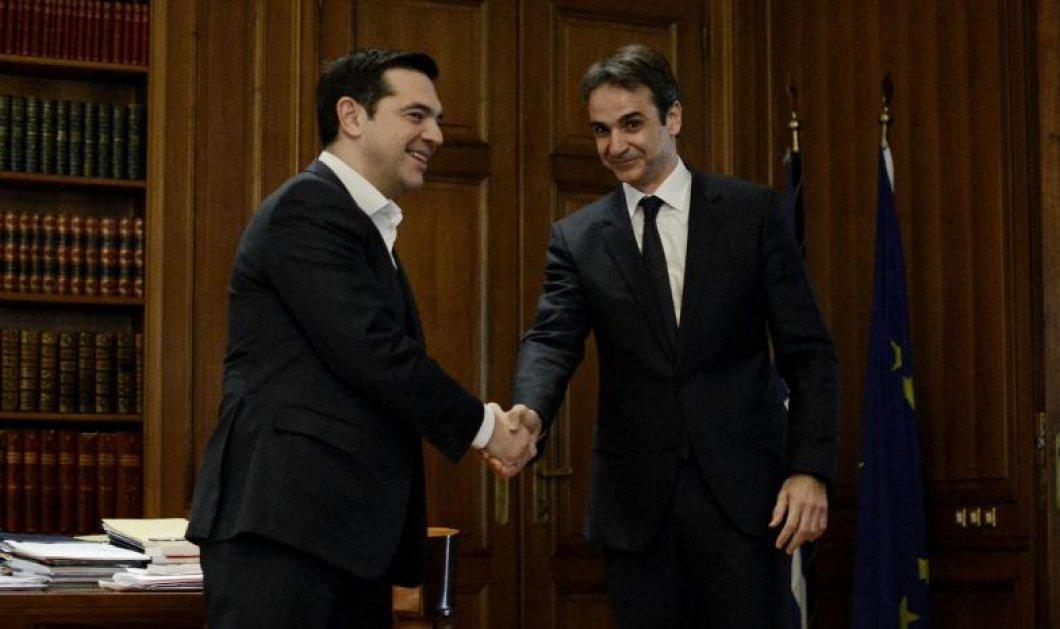 Έρευνα της Public Issue: Πώς διαμορφώνονται τα ποσοστά μεταξύ ΣΥΡΙΖΑ και ΝΔ - Κυρίως Φωτογραφία - Gallery - Video