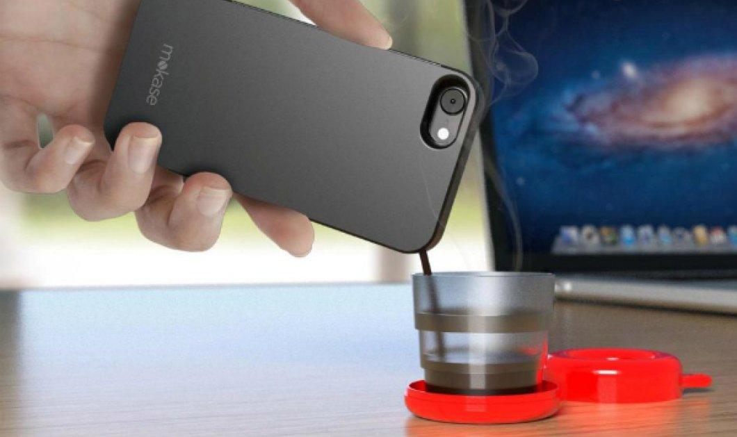 Το λέγαμε σαν αστείο μα έγινε πραγματικότητα... Αυτό είναι το κινητό που φτιάχνει & καφέ! (ΒΙΝΤΕΟ) - Κυρίως Φωτογραφία - Gallery - Video