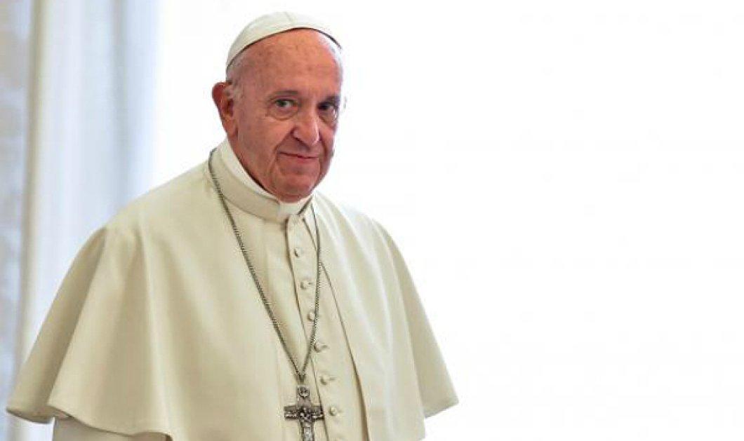 Ο πάπας Φραγκίσκος με θύματα σεξουαλικών κακοποιήσεων και δράστες ιερείς - Κυρίως Φωτογραφία - Gallery - Video