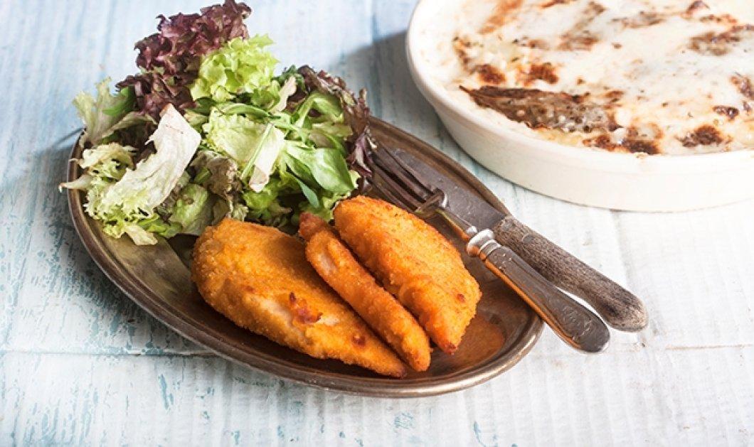Νόστιμο, τρυφερό & με τραγανή κρούστα σνίτσελ κοτόπουλο με πατάτες στο φούρνο από την Αργυρώ μας!  - Κυρίως Φωτογραφία - Gallery - Video