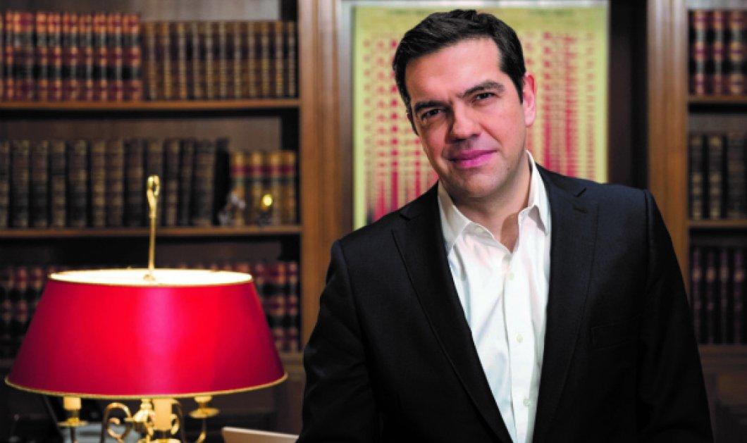 """""""Θεαματική η αλλαγή της εικόνας στην ελληνική οικονομία"""" τόνισε ο Αλέξης Τσίπρας από το Οικονομικό Φόρουμ Δελφών - Κυρίως Φωτογραφία - Gallery - Video"""
