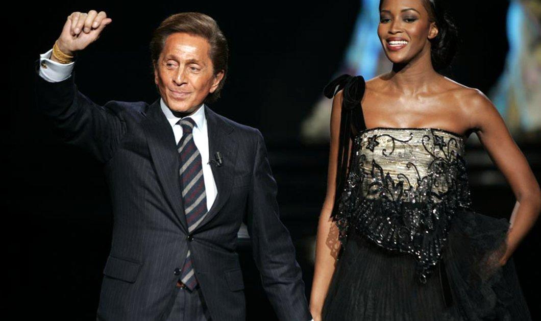 VIntage pic: O μεγάλος σταρ της ιταλικής μόδας Valentino θυμάται την Ναόμι Κάμπελ σε μια εκρηκτική εμφάνιση - Κυρίως Φωτογραφία - Gallery - Video