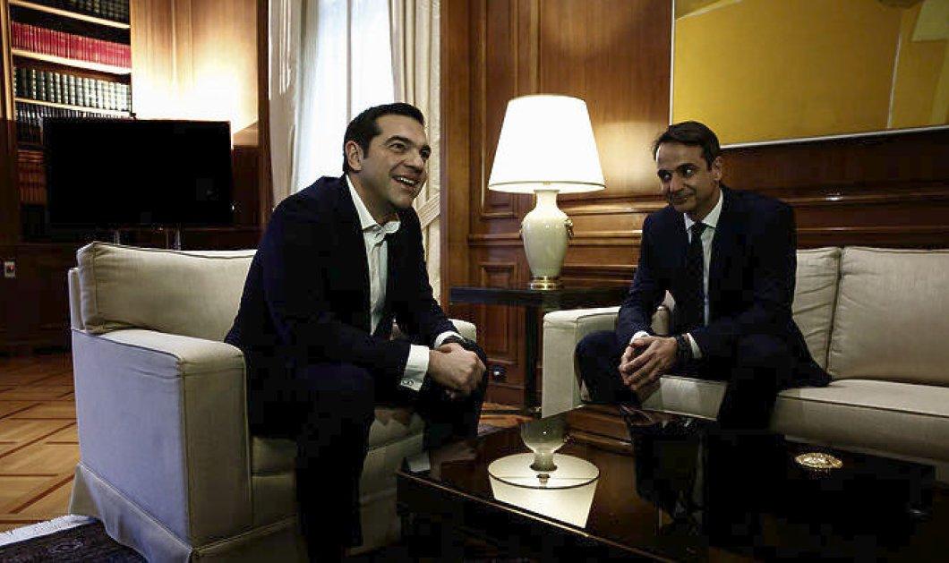 Οι πολιτικοί αρχηγοί για το Σκοπιανό- Τι ειπώθηκε στις διαδοχικές συναντήσεις με τον πρωθυπουργό (ΦΩΤΟ) - Κυρίως Φωτογραφία - Gallery - Video