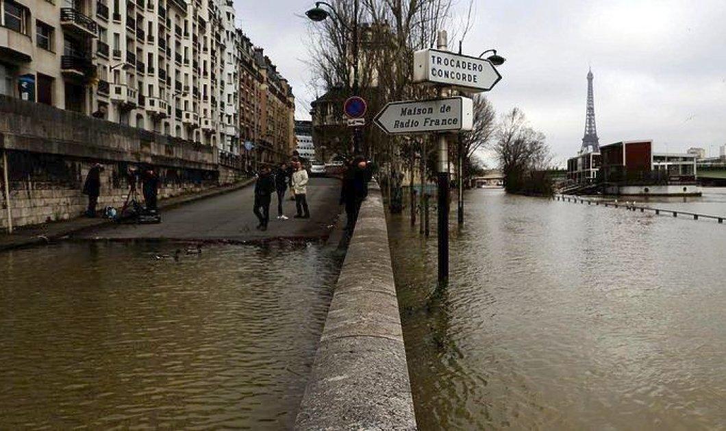 Ανέβηκε επικίνδυνα η στάθμη του νερού στο Σηκουάνα - 1500 άνθρωποι απομακρύνθηκαν από τα σπίτια τους  - Κυρίως Φωτογραφία - Gallery - Video