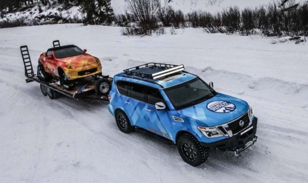 Η Nissan παρουσιάζει το 370Zki και το Armada Snow Patrol - Τα χειμερινά σπορ στο επίκεντρο της εταιρείας  - Κυρίως Φωτογραφία - Gallery - Video