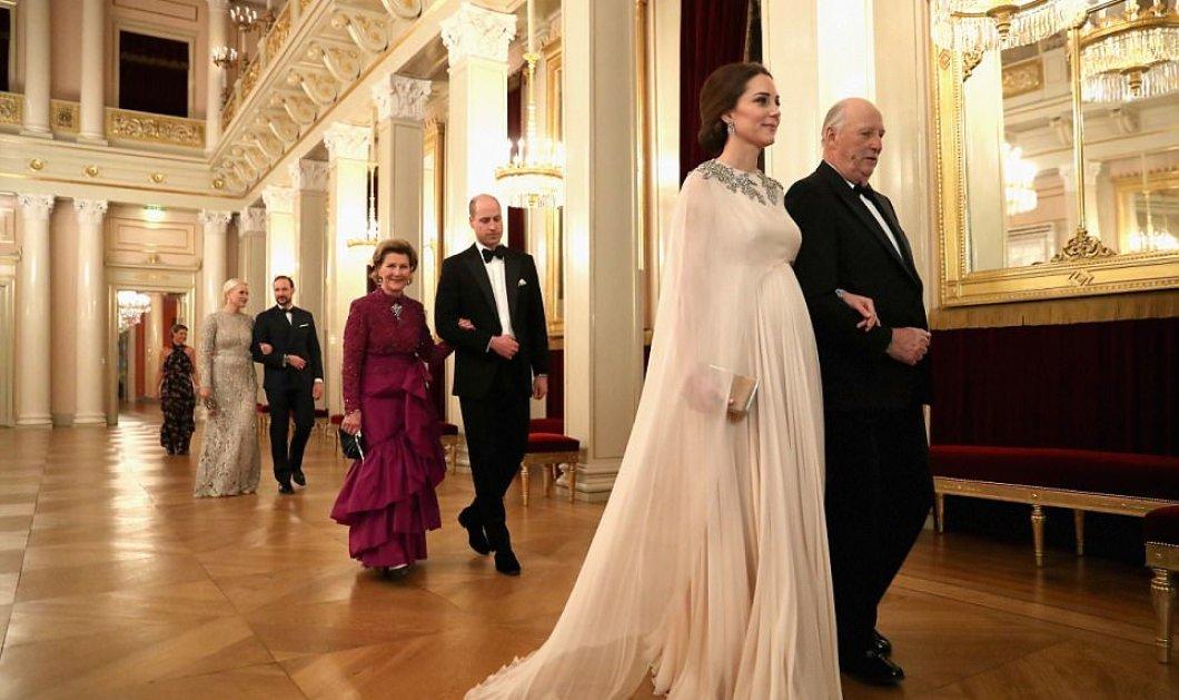 Η Κέιτ Μίντλετον στην πιο βασιλική της εμφάνιση - Στην παγωμένη Νορβηγία ως Ελληνίδα Θεά - Κυρίως Φωτογραφία - Gallery - Video