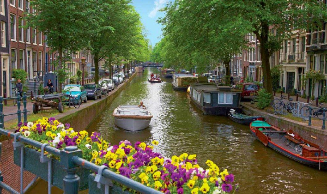 Μοναδικό travel βίντεο: Ας ταξιδέψουμε στο χρωματιστό Άμστερνταμ μέσα από ένα συναρπαστικό timelapse (ΒΙΝΤΕΟ) - Κυρίως Φωτογραφία - Gallery - Video