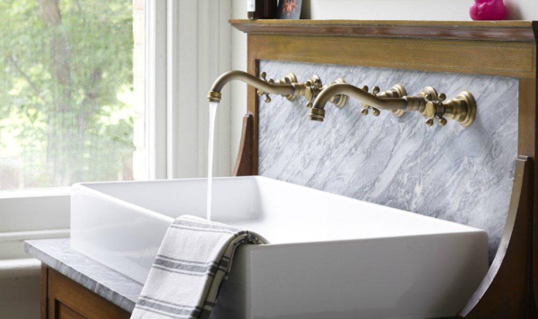 """Μπάνια από μάρμαρο για ατμόσφαιρα """"έξυπνη"""" στον πιο αγαπημένο χώρο του σπιτιού (ΦΩΤΟ) - Κυρίως Φωτογραφία - Gallery - Video"""