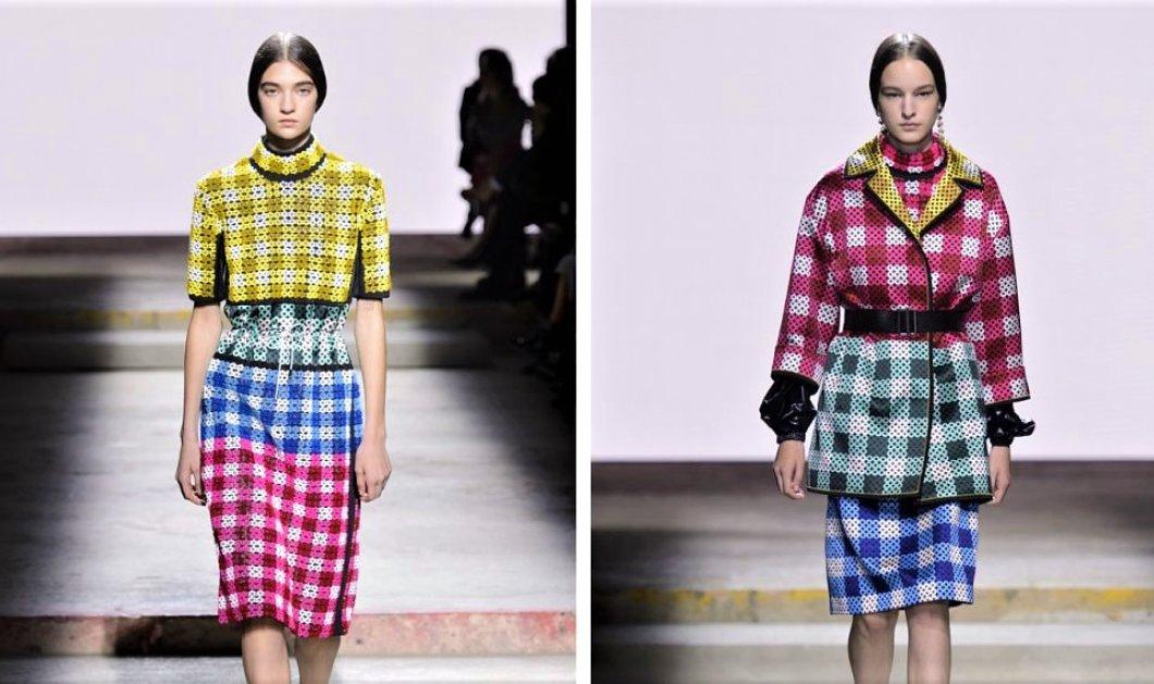 Τι παρουσίασε στην Εβδομάδα μόδας του Λονδίνου η Ελληνίδα σούπερ  -σχεδιάστρια Μαίρη Κατράντζου για το. 13 Φεβρουαρίου 2018 2a3f59ee4ef