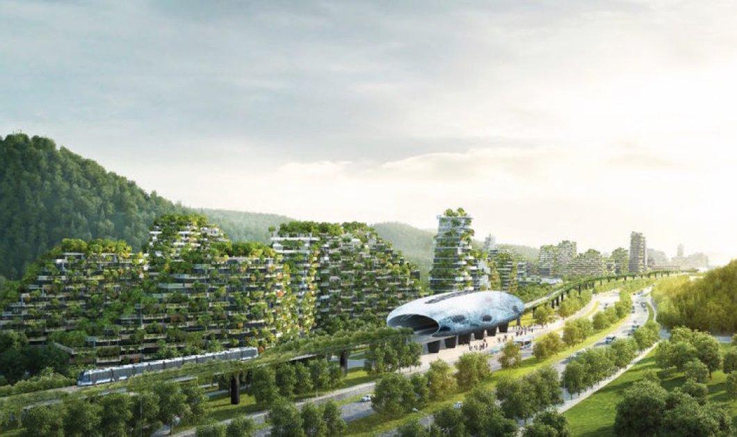 Η Κίνα φτιάχνει την πρώτη πόλη-δάσος για να αντιμετωπίσει την ατμοσφαιρική ρύπανση (ΦΩΤΟ - ΒΙΝΤΕΟ) - Κυρίως Φωτογραφία - Gallery - Video