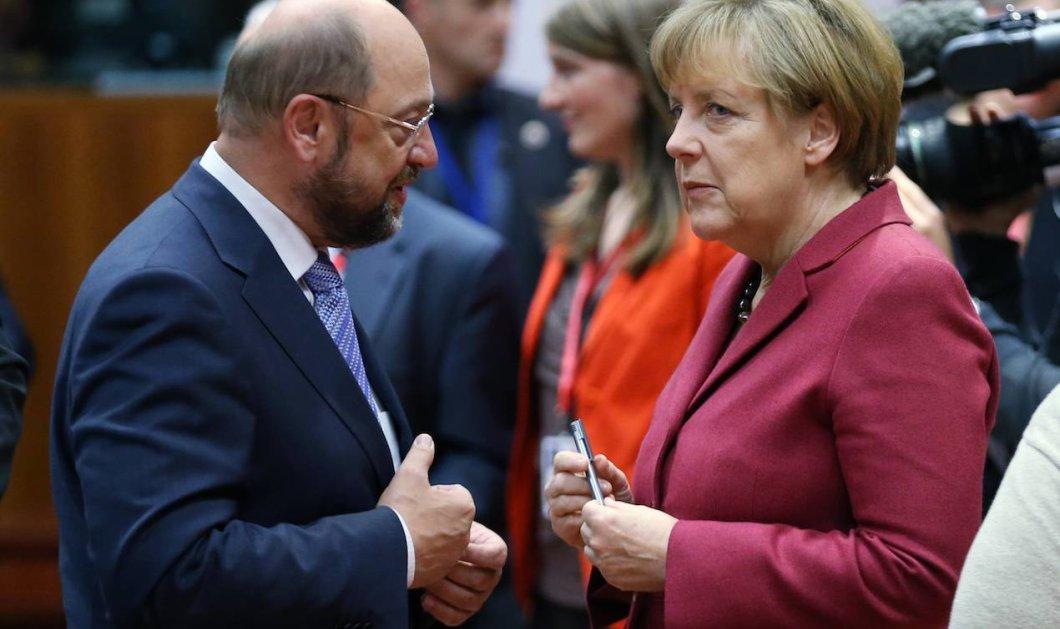 Η Άνγκελα Μέρκελ και ο Σουλτς συμφώνησαν για κυβέρνηση συνασπισμού - Κυρίως Φωτογραφία - Gallery - Video