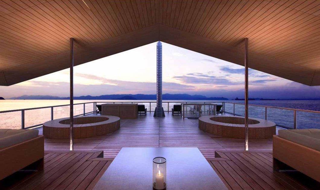 Guntû: Το πολυτελές πλωτό ξενοδοχείο στην Ιαπωνία που το θαυμάζουν όλοι (ΦΩΤΟ)   - Κυρίως Φωτογραφία - Gallery - Video