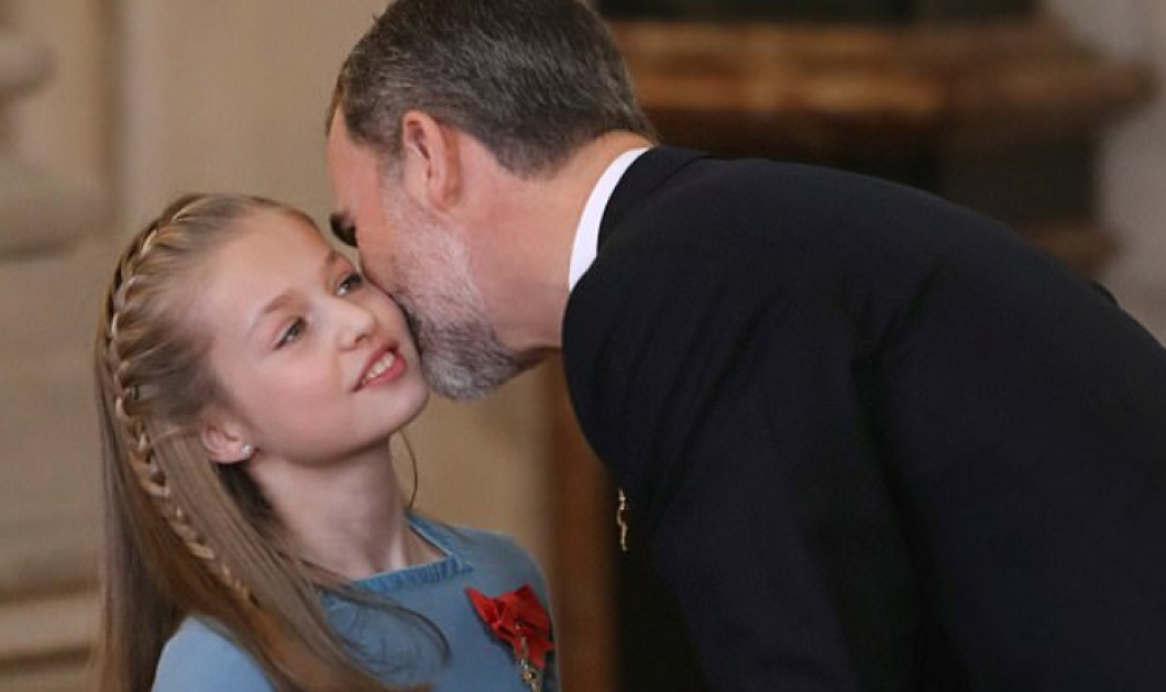 Πριγκίπισσα Λεονόρ ετών 12: Η μέλλουσα βασίλισσα της Ισπανίας μόλις ανέλαβε επίσημο ρόλο - ΦΩΤΟ  - Κυρίως Φωτογραφία - Gallery - Video