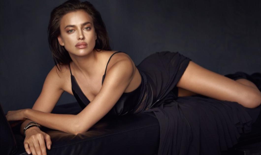 Η Irina Shayk στα καλύτερα της! Με μαύρο διχτυωτό Babydoll ξαπλωμένη στο κρεβάτι της!   - Κυρίως Φωτογραφία - Gallery - Video