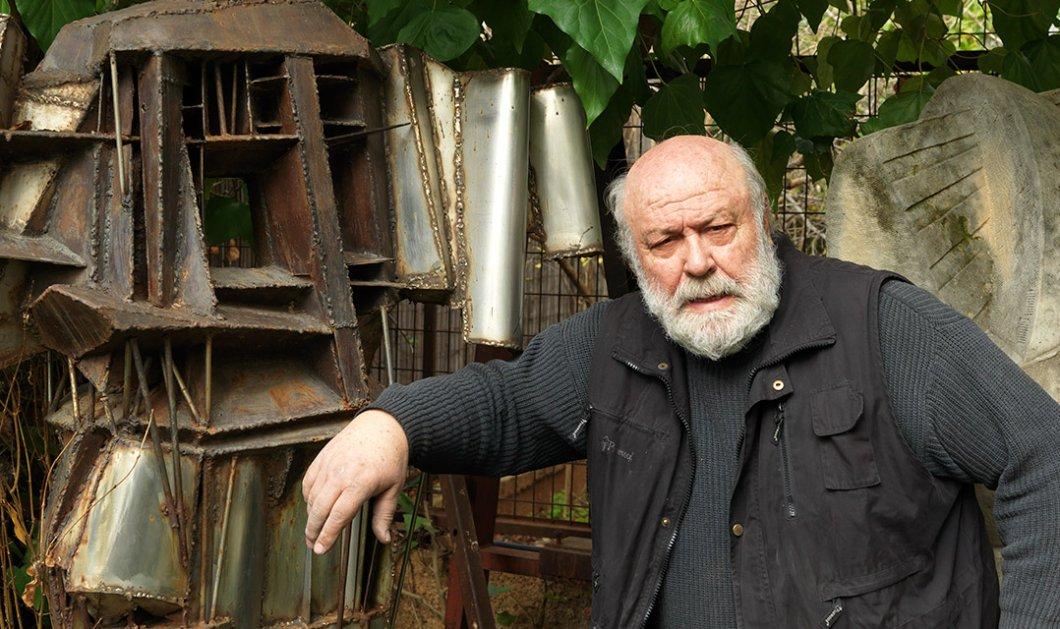 Αποκλ.: Ο κορυφαίος γλύπτης Γιώργος Χουλιαράς στο Made in Greecenews σε μια συνέντευξη ποταμό - Για την Ελλάδα των 4 εποχών και τη σύγχρονη τέχνη (ΦΩΤΟ) - Κυρίως Φωτογραφία - Gallery - Video