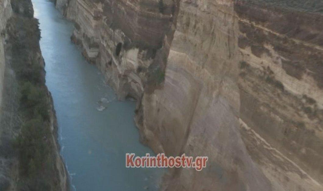 Για 15 ημέρες κλειστή η διώρυγα του Ισθμού στην Κόρινθο λόγω κατολίσθησης χωμάτων και βράχων (ΒΙΝΤΕΟ) - Κυρίως Φωτογραφία - Gallery - Video