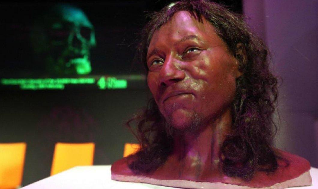 Αποκάλυψη! Ο πρώτος σύγχρονος Βρετανός ήταν μαύρος με γαλάζια μάτια - Τα πειστήρια των επιστημόνων από το DNA - Κυρίως Φωτογραφία - Gallery - Video