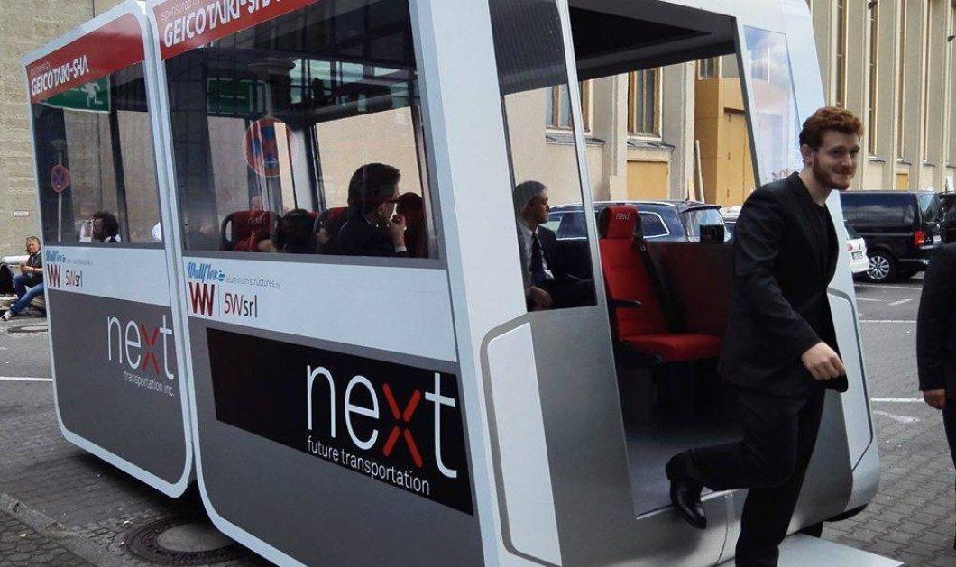 Το Ντουμπάι άρχισε να δοκιμάζει ηλεκτροκίνητα λεωφορειάκια χωρίς οδηγό (ΦΩΤΟ - ΒΙΝΤΕΟ) - Κυρίως Φωτογραφία - Gallery - Video