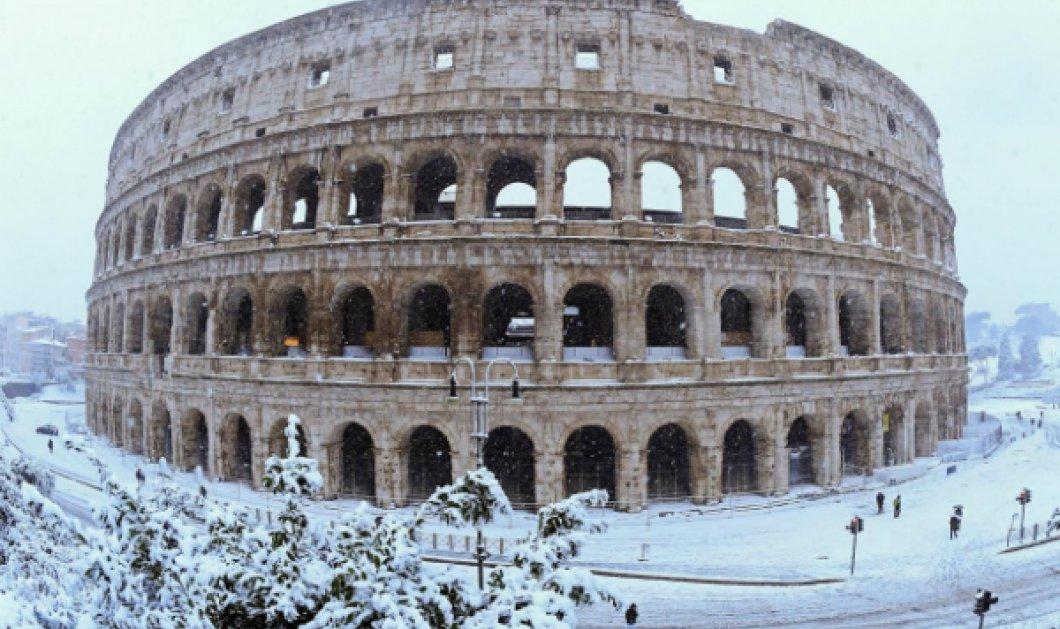 Μαγευτικά πλάνα από drone: Η Ρώμη ντυμένη στα λευκά μας προκαλεί & μας γοητεύει (ΒΙΝΤΕΟ) - Κυρίως Φωτογραφία - Gallery - Video