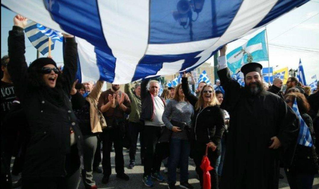 Δημήτρης Χρήστου: Άγνοια και πονηρή υποκρισία από την Εκκλησία η συμμετοχή στα συλλαλητήρια - Κυρίως Φωτογραφία - Gallery - Video